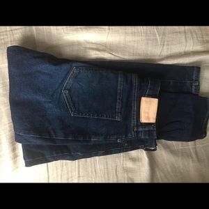 Everlane high rise stretch jeans 28 ankle